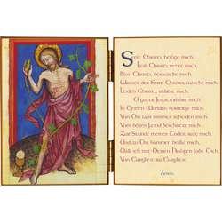 Christ Eucharistique et la Prière Anima Christi