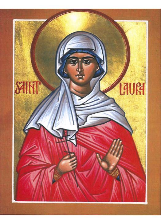 Icône de sainte Laure