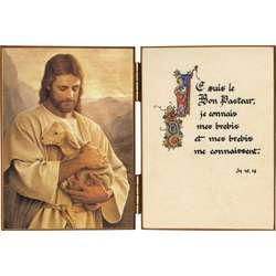 Le Bon Pasteur et une citation de saint Jean