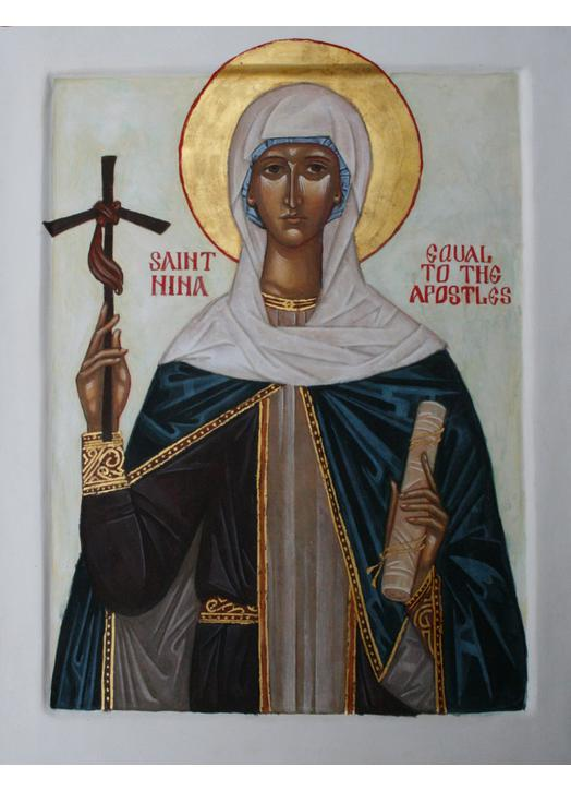 Icon of saint Nina
