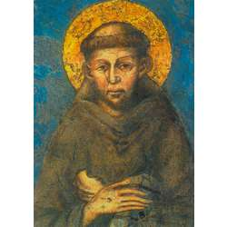 Icoon van St.-Franciscus van Assisi