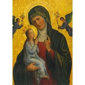 Icône de sainte Anne et de la Vierge Marie