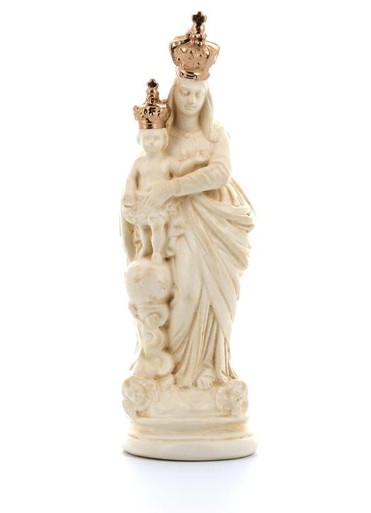 statue of Our Lady of the Victories, 15 cm (Vue de face)
