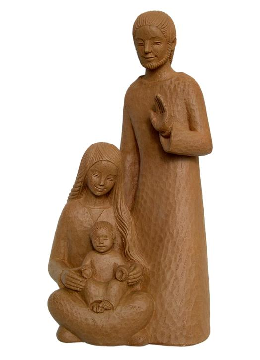 Statue of the Holy Family, 32 cm (Vue de face)