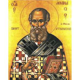 Icon of saint Athanasius