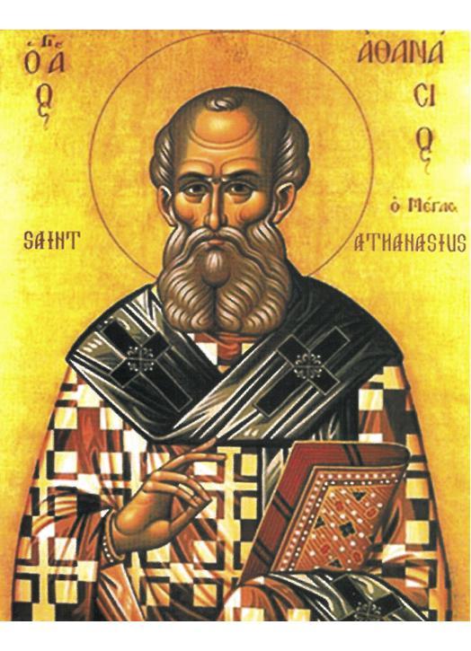 Icon of saint Athanasius