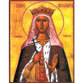 Icône de sainte Alexandra