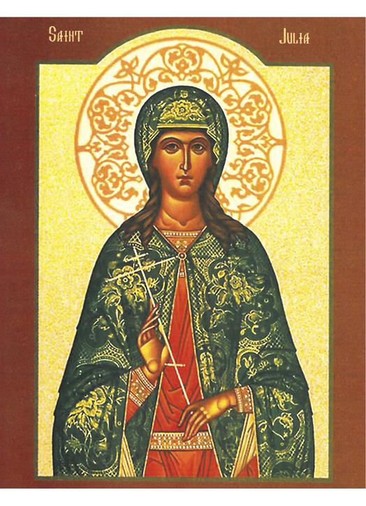 Icon of St. Julie