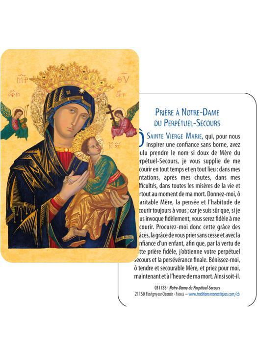 Card-prayer of Padre Pio (Recto-Verso)