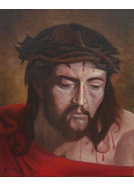 Icono con Jesús