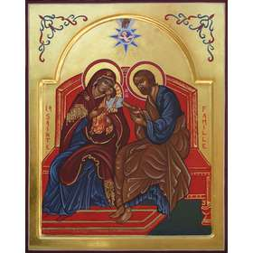 Icono de la Sagrada Familia