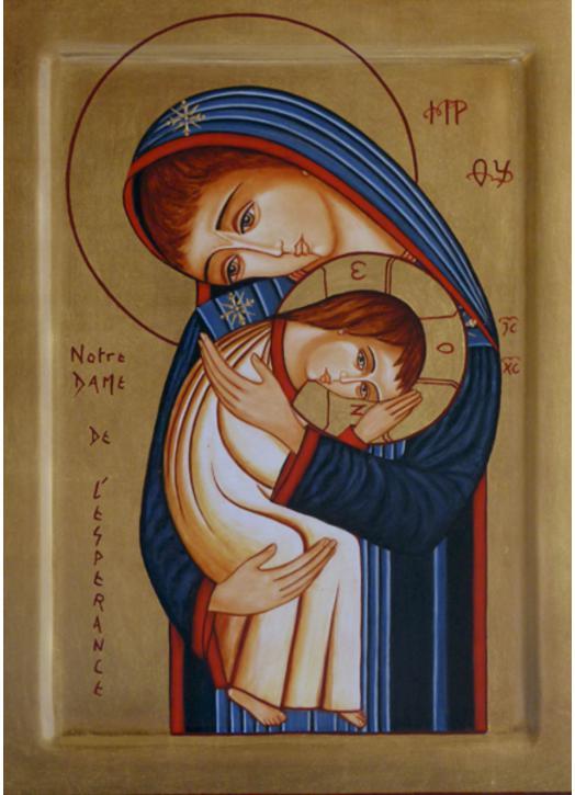 Icône de Notre-Dame de l'Espérance