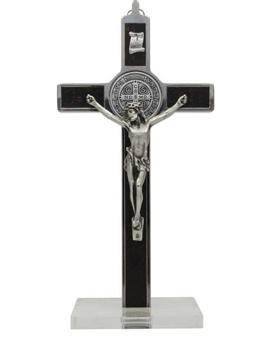 Crucifix of Saint Benedict rosewood