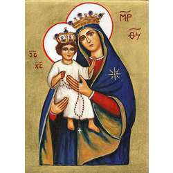 Icon of Our Lady of the Rosary