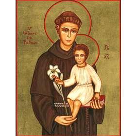 Icono de San Antonio de Padua
