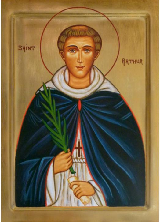 Icon of St. Arthur