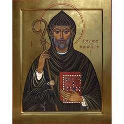 Icoon van de heilige Benedictus