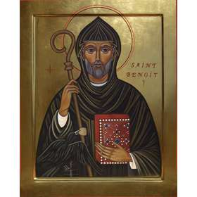 Icon of Saint Benedict