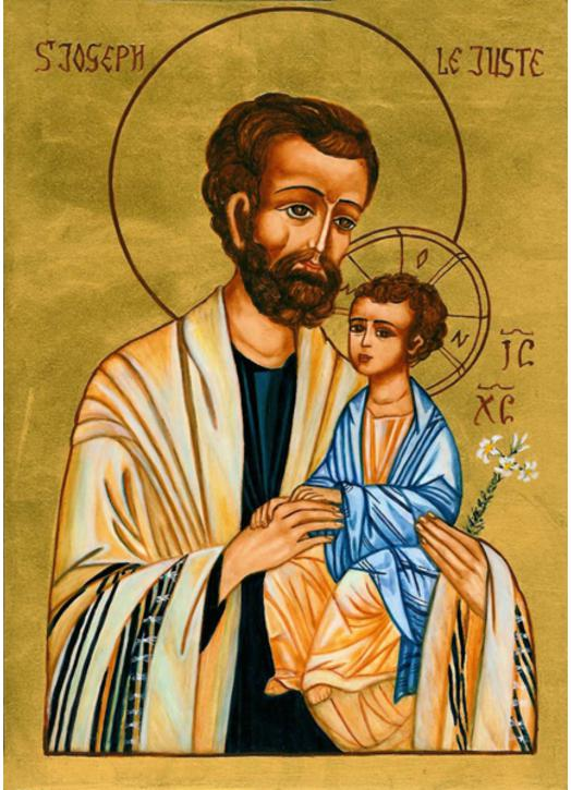 Icône de Saint joseph le Juste