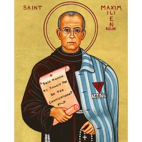Icono de San Max Kolbe