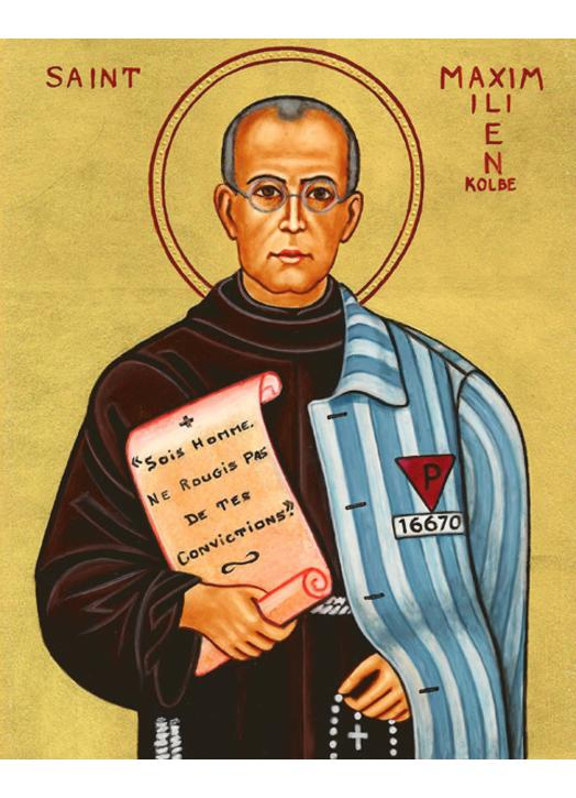 Icon of St. Max Kolbe