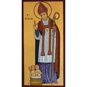 Icône de Saint Nicolas, Patron de la Lorraine