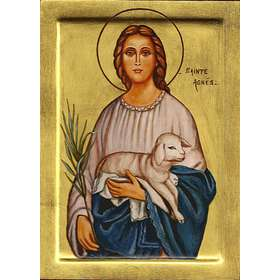 Icono de Santa Inés