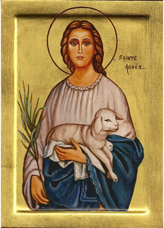 Icon of St. Agnes