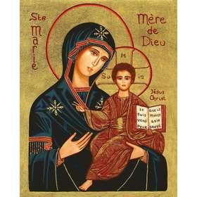 Icône de Sainte Vierge Marie