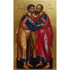 Icono de los Santos Pedro y Pablo
