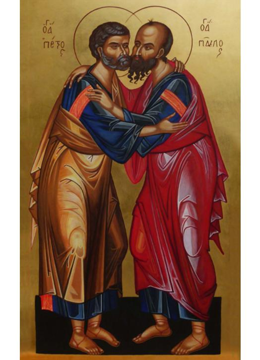 Icon of Saints Peter and Paul