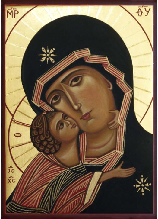 Icon of the Virgin of Our Dameresse (Vladimir)