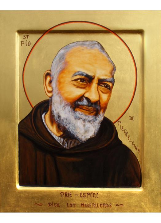 Icône du Padre Pio