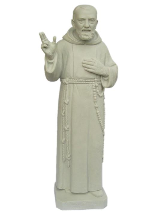Statue of Padre Pio (Vue de face)