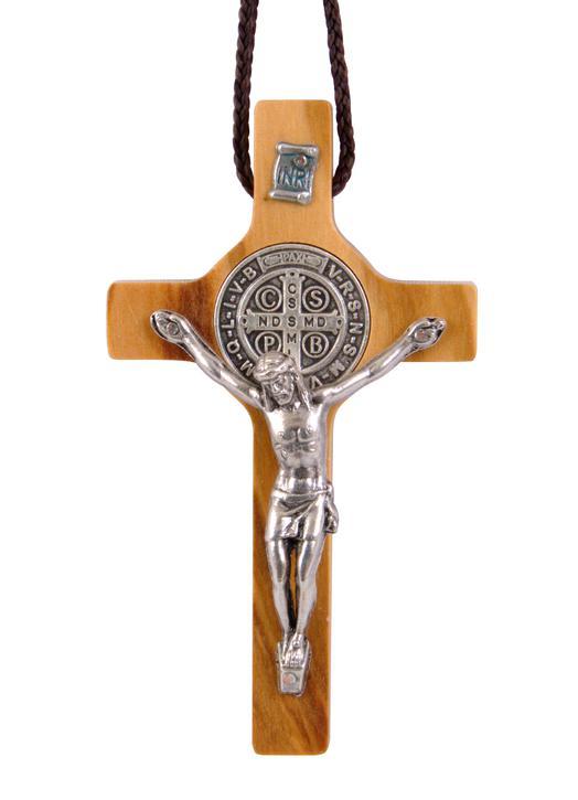 Crucifix of Saint Benedict rosewood