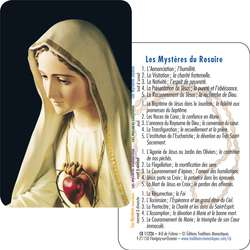 Our Lady of Fatima  (recto-verso)