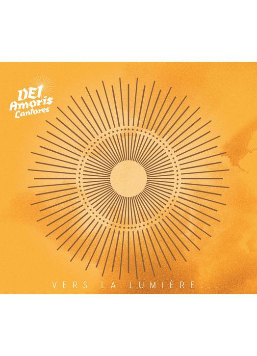 """CD polyphonic liturgical songs: """"Vers la lumière"""" (Couverture)"""