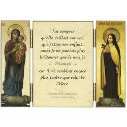 Citation de Ste Thérèse de l'E.-J. sur Marie
