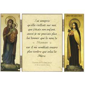 Cita de Sta. Teresita sobre María