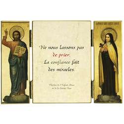 Cita de Sta. Teresita sobre la oración