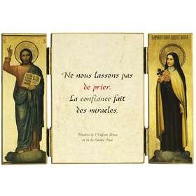 Citation de Ste Thérèse de l'E.-J. sur la prière