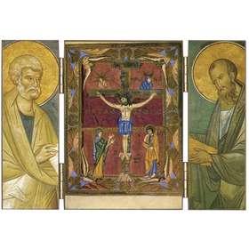 Jesucristo crucificado -Sacramentario de Regensburg