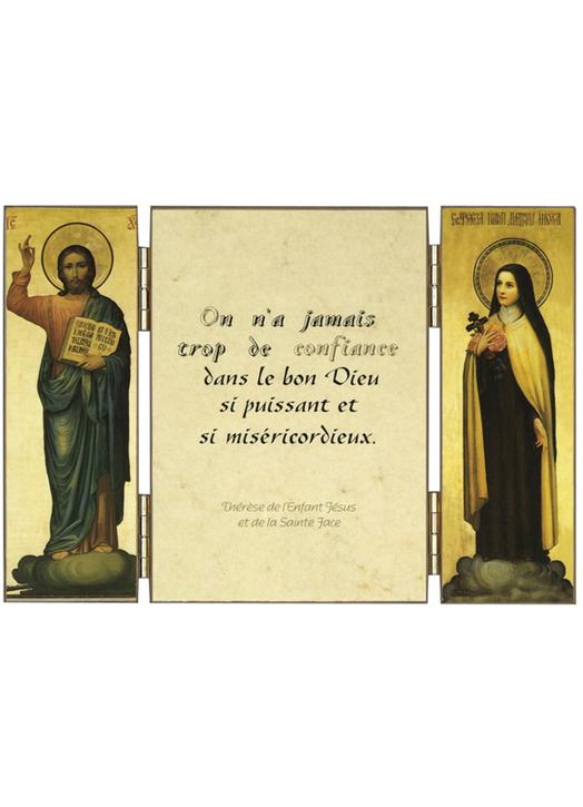 Citation de Ste Thérèse de l'E.-J. sur la confiance
