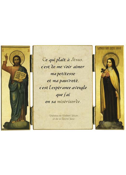 Citation de Ste Thérèse de l'E.-J. sur Miséricorde