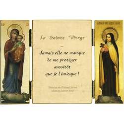 Cita de Sta. Teresita sobre la protección de María