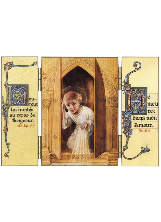 The Infant Jesus in the Tabernacle