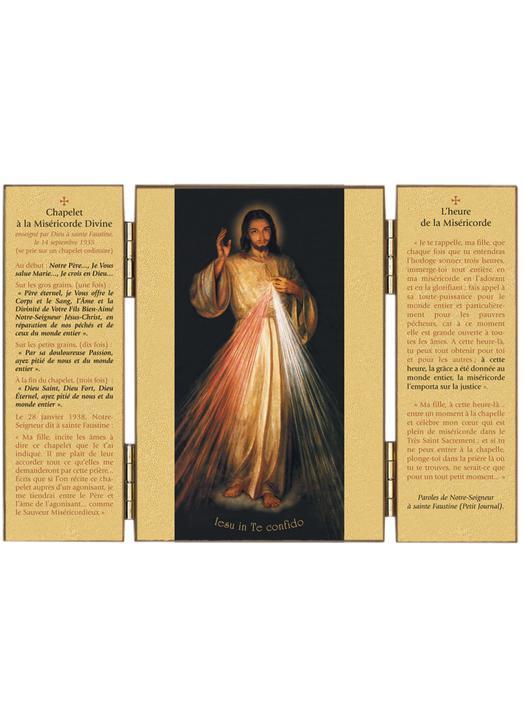 Christ Miséricordieux - Heure et chapelet