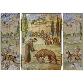 Saint François d'Assise et le loup de Gubbio