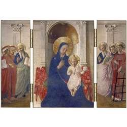 La Virgen María con el Emmanuel