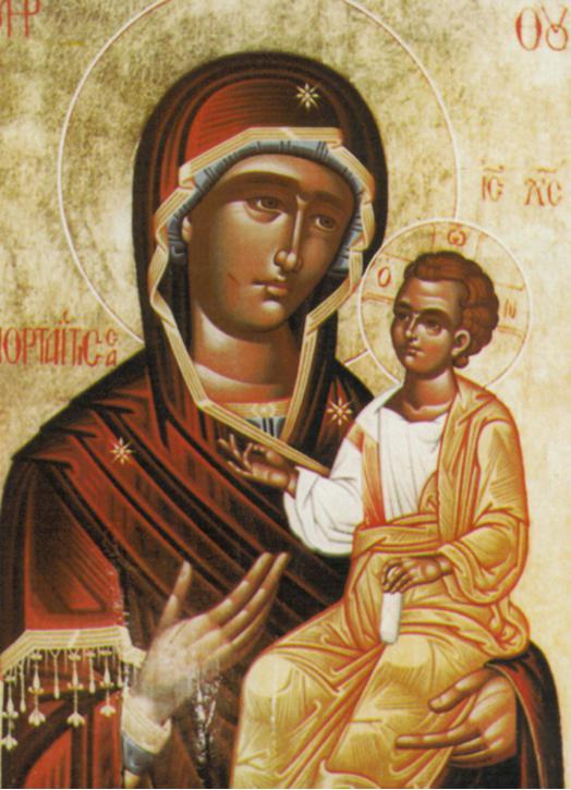 Icône de Marie, Porte du Ciel (M)